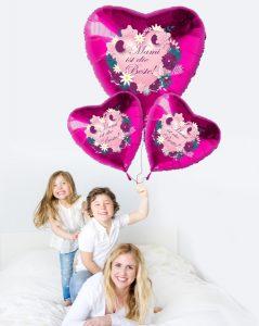 Muttertag-mit-dem-grossen-Luftballon-Bouquet-Mami-ist-die-Beste