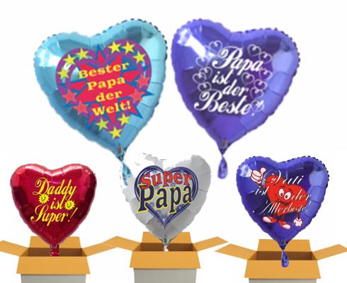 Vatertag Luftballons
