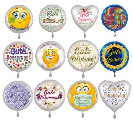 Gute Besserung Luftballons